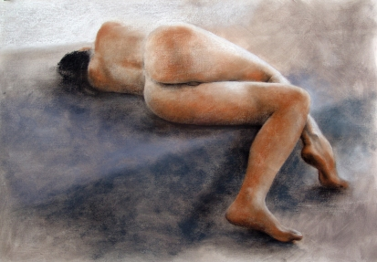 #3: Pastel on paper