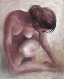 #6: Pastel on paper