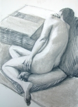 Charcoal, conte