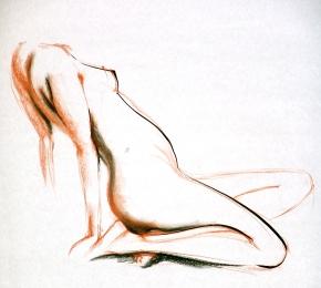 Conte, ink